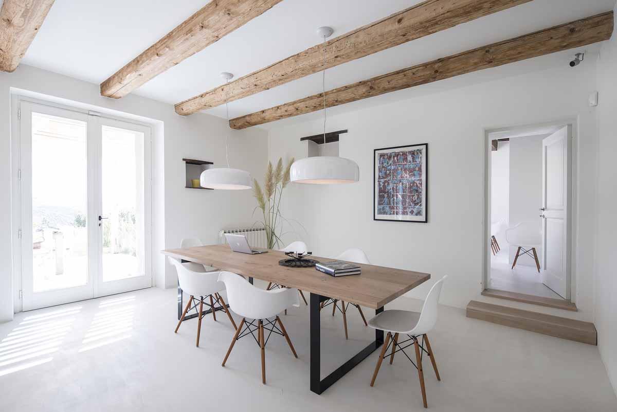 Camattei design vakantiehuis vakantiehuizen designvilla met zwembad italië Marche